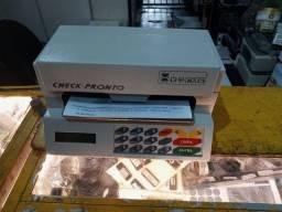 Impressora de cheque Chronos ACC 300 revisada com fita nova