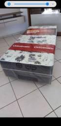 Cama box de Solteiro ortobom D28 nova lacrada