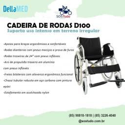 Cadeira de rodas e de banho - combo em oferta até o final do mês