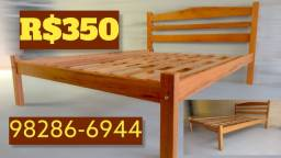 Título do anúncio: Cama de madeira Angelim