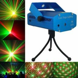 Título do anúncio: Mini Laser Projetor Led HOLOGRÁFICO