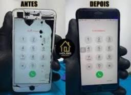 Título do anúncio: Troca de tela a domicílio Iphone 7, 7 plus
