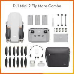 Título do anúncio: Drone Mini 2 Fly More Combo DJI - (3 Meses De USO)