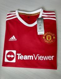 Título do anúncio: Camisa M.United  21/22 TAM: G