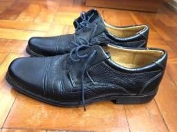 Sapato Social Masculino em Couro Tamanho 42 - Datteli