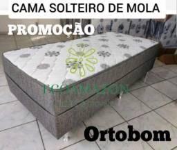 Título do anúncio: CAma solteiro MolaS ortobom entregamos hoje