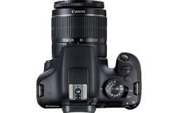 Título do anúncio: Canon Eos Rebel T7+ Com Bolsa E Scandisk32gb Com 300clicks