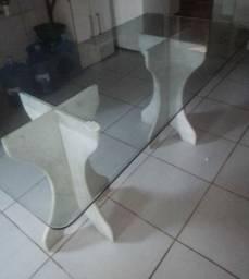 Vendo mesa de vidro!