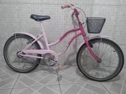 Bicicleta Caloi Barbie