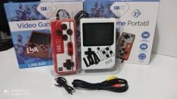 Título do anúncio: Mini game portátil com controle 400 jogos promoção R$75,00