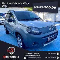 Título do anúncio: Fiat Uno Vivace Way 2013