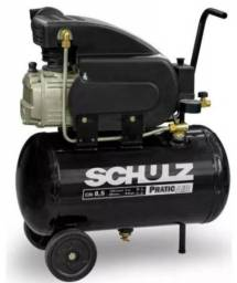 Título do anúncio: Compressor chulz 25l +filtro+ 02 mangueiras