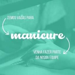 Título do anúncio: Vaga Manicure - Sítio Cercado