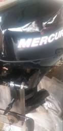 Motor 8 hp mercury 12 horas de uso 4 tempos