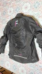 Jaqueta feminina motociclismo Forza cor Rosa - TOP