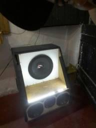 Título do anúncio: Vendo caixa de som pra corro e pra sua casa tbm movel