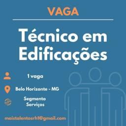 Título do anúncio: Técnico em Edificações