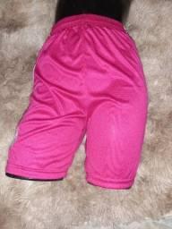 Título do anúncio: Short Rosa para Esportes - Tam. P e M