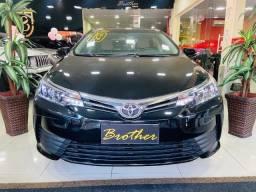 Título do anúncio: Corolla Gli Upper 1.8 automático 2019 preto