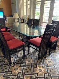 OPORTUNIDADE Mesa de Jantar Com 8 Lugares