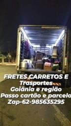 Título do anúncio: Frete frete transporte frete transporte frete