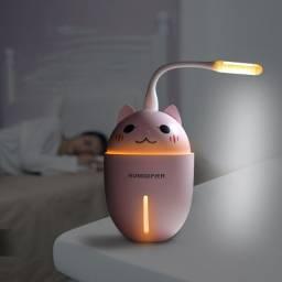 Título do anúncio: Umidificador 3 Em 1 Adorable Pet Ventilador E Luminária Gato