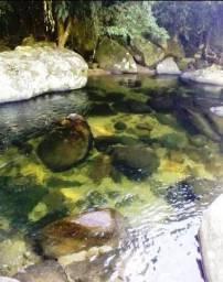Título do anúncio: área com fundo de cachoeira em Mangaratiba