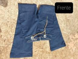 Calça jeans morena rosa número 38