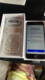 Título do anúncio: Iphone 6s plus 16gb, Bateria 100% no plástico com acessórios originais!