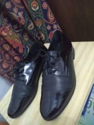 Sapato preto Oxford