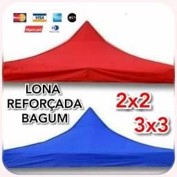 Título do anúncio: LONA REFORÇADA P/ TENDA 2X2 E 3X3 DE ALTA DURABILIDADE. ZAP *