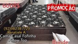 Título do anúncio: Cama box casal Fofinha Pillow Top // Entrega gratis