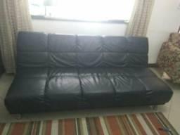 Sofá cama preto
