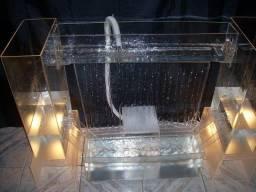 Mesa completa com Fonte de Agua para Decoração de Festas