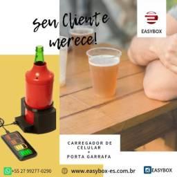 Carregador de celular + Porta Garrafa