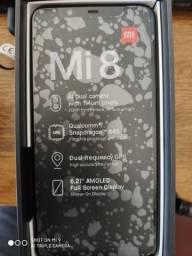 Oferta Imperdível Smartphone Xiaomi Mi 8 128gb 6gb ram Amoled Snapdragon 845 Top