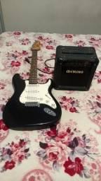 Vendo ou troco / Guitarra + Caixa Meteoro