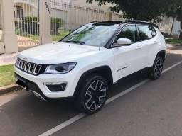 Jeep Compass Limited 4x4 Diesel 19/19 branco perolizado - 2019