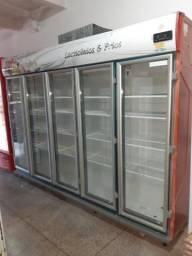 Freezer de laticínios