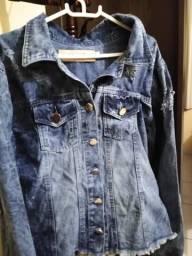 Jaqueta jeans nova tamanho g