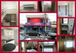 Apartamento semi mobiliado Condomínio Aquarius