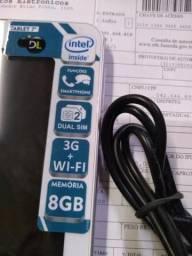 Vendo ou troco Tablet novo com nota e garantia, por telefone