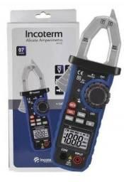 Alicate Amperímetro Digital AD230 Incoterm