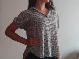 Blusa estampada Zara