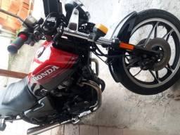 Moto cb 450 dx - 1988