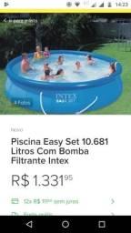 Piscina Intex nova 10.681 litros