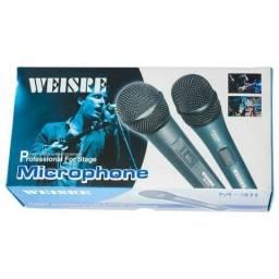 Microfone Com fio Weisre M-313