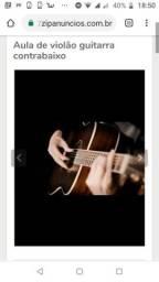 Aulas de violão e guitarra!!!