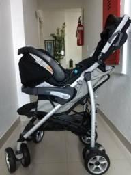 Chicco Trevi kit completo carrinho bebê conforto