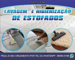 Limpeza e higienização de sofas